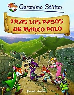 Amazon.com: Tras los pasos de Marco Polo: Cómic Geronimo