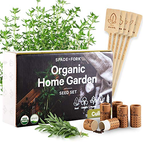 Certified Organic Culinary Seeds Collection product image
