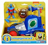 Fisher-Price Imaginext SpongeBob Man Ray and Hot Rod Playset