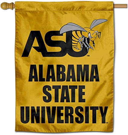 ASU Alabama State University House Flag