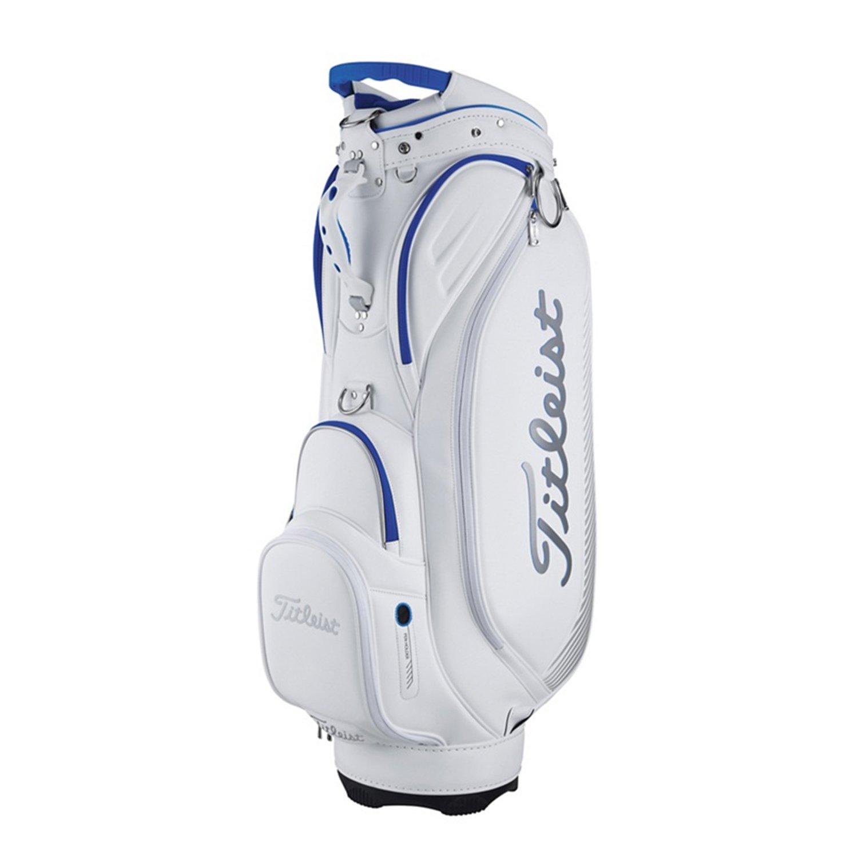 TITLEIST (タイトリスト) Golf Bags ゴルフバッグ B072KRBWTZ Modern Sports Cart Bag, TB7CTMSK-1, White Modern Sports Cart Bag, TB7CTMSK1, White