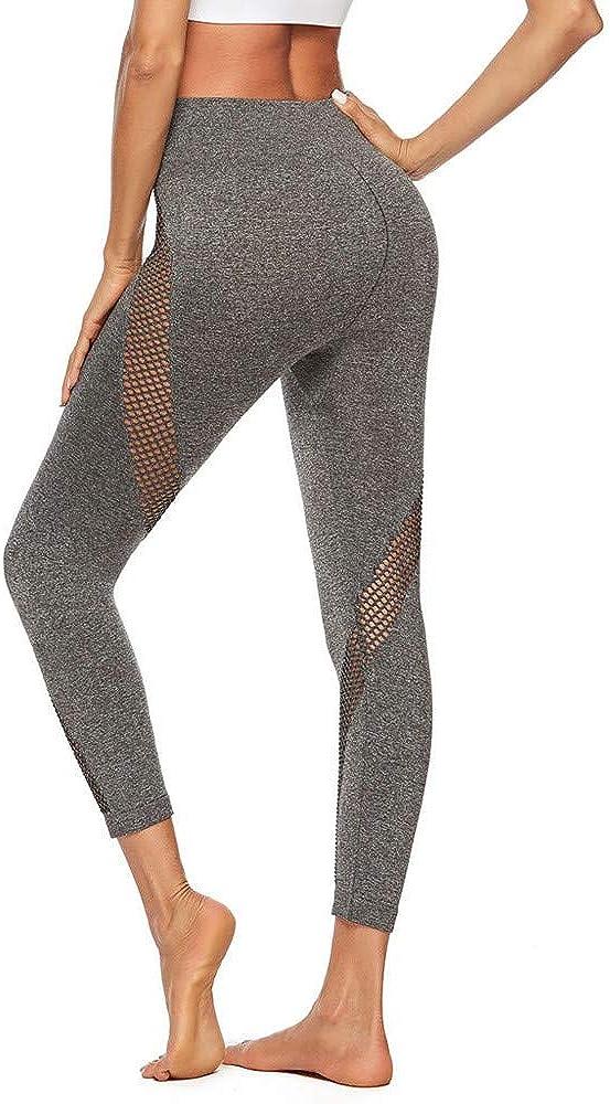 Halfbye Flex Dry-Fit Pants Leggings Women Yoga Tummy Control Workout Pants High Waist Cutout Tights