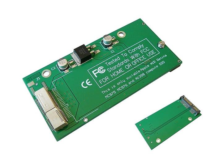 KALEA-INFORMATIQUE Adaptador SATA para SSD MAC PRO 2012 18+8 pin ...