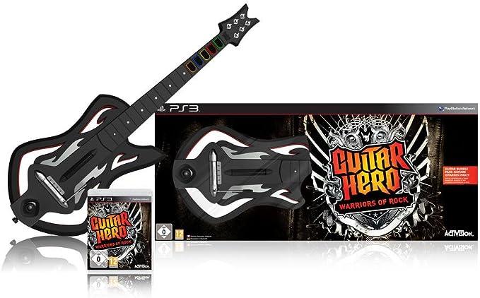Guitar Hero 6: Warriors of Rock - Guitar Bundle (PS3) [Importación inglesa]: Amazon.es: Videojuegos