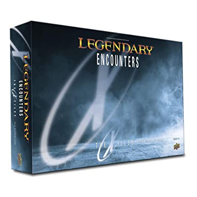 Legendary Encounters: X-Files Deck Building Game: Toys & Games