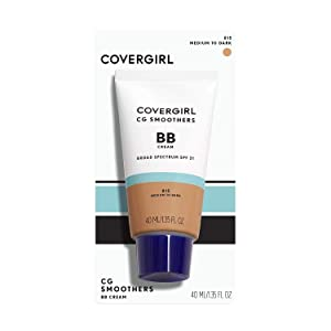 COVERGIRL Smoothers Lightweight BB Cream, Medium to Dark 815, 1.35 oz (Packaging May Vary) Lightweight Hydrating 10-In-1 Skin Enhancer with SPF 21 UV Protection