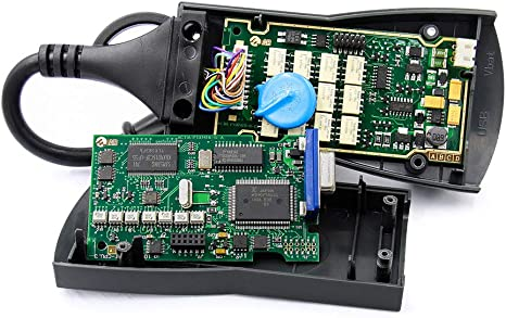 ZHUOYUE Lexia3 PP2000 Chip Completo con PCB Dorado Firmware 921815C Diagbox V7.83 Lexia 3 para Citroen//Peugeot Auto OBD OBD2 Herramienta De Diagn/óstico