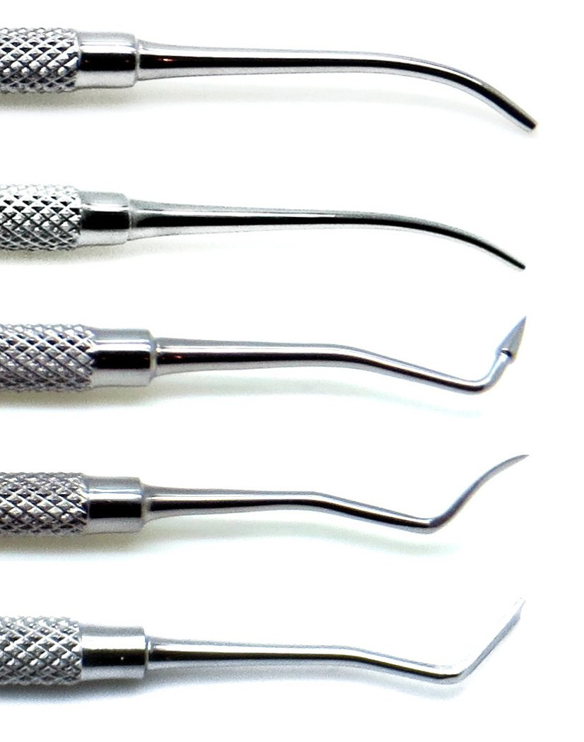 Dental Pk Thomas Wax Carvers P.K 1, 2, 3, 4, 5 Restorative Double Ended Waxing Modelling Instruments 5 Pieces Set by Superior (Image #4)