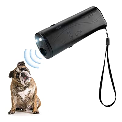 POVAD LED Ultrasonic Dog Repeller