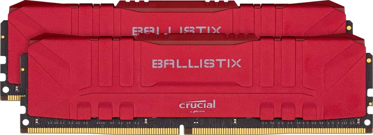 Memoria Crucial Ballistix 3000MHZ DDR4 32GB 16GBx2 CL15 RED