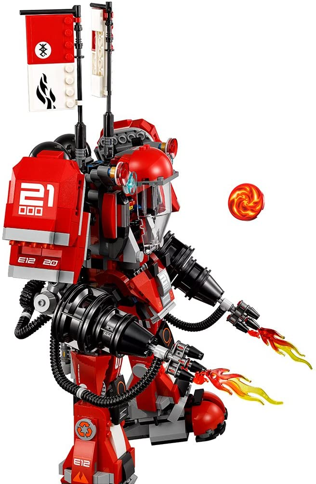 LEGO NINJAGO Movie Fire Mech 70615 Building Kit 944 Pieces