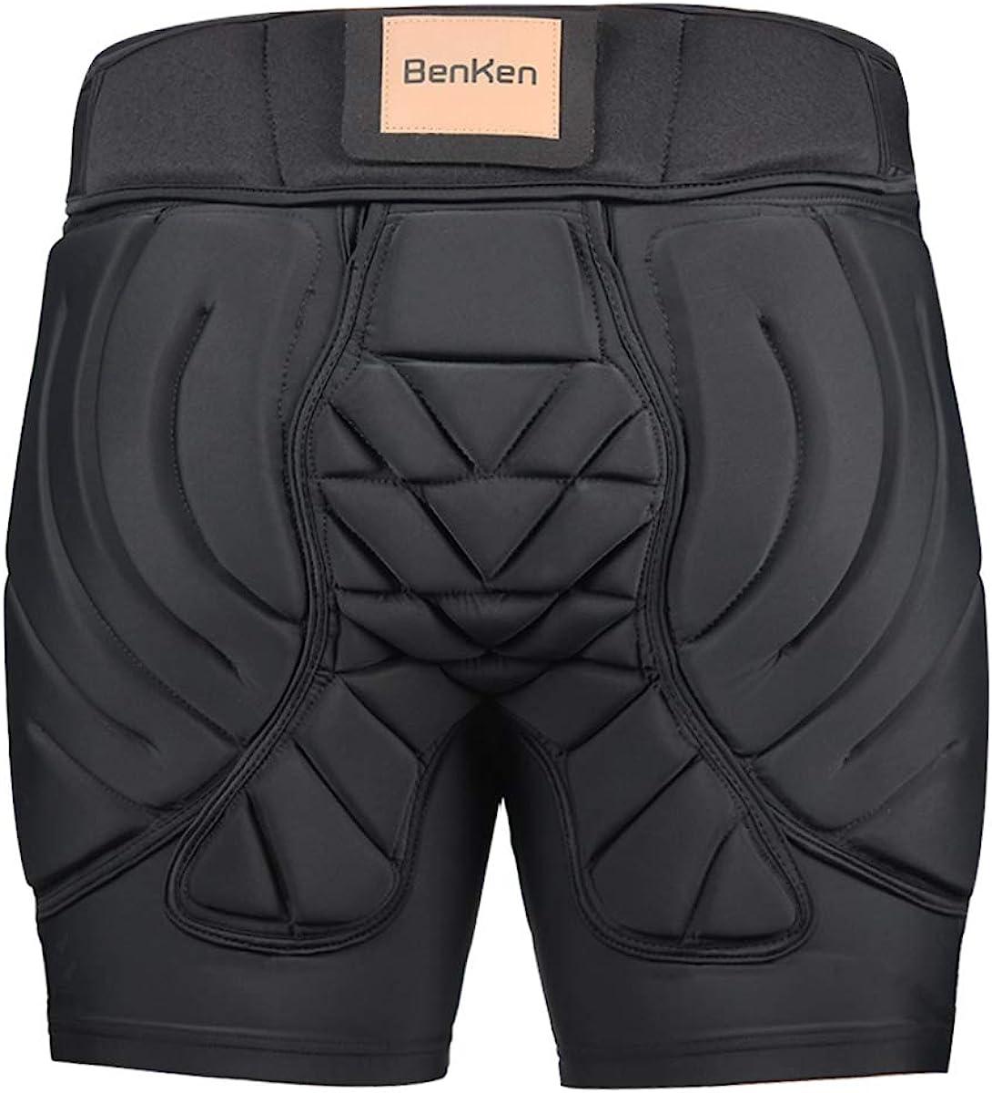 BenKen Hip Protective Padded Short Pants: Clothing