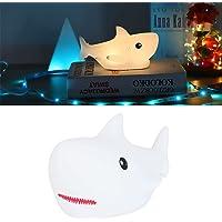 Leuke Haai Nachtlampje, Makkelijk Te Gebruiken Leuke LED Nachtlampje Klap Controle Functie voor Slaapkamer voor…