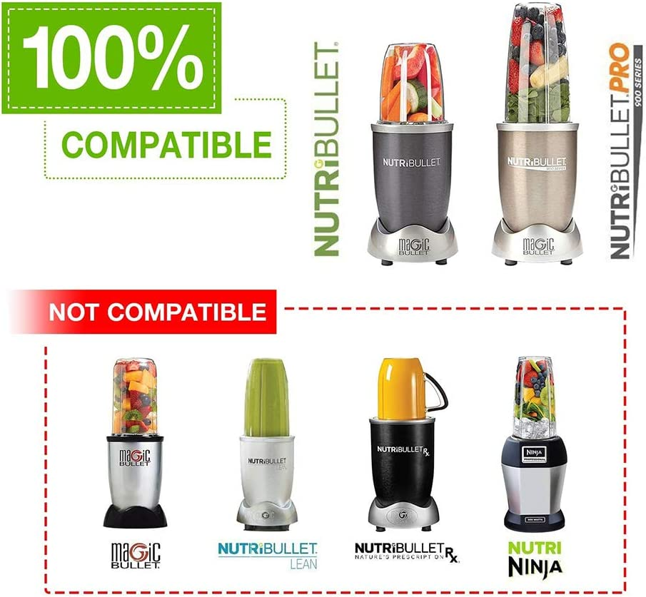 Replacement Extractor Blade Compatible with NutriBullet 600w and 900w Blender Models Replacement Parts