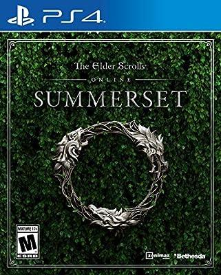 Amazon com: The Elder Scrolls Online: Summerset - PS4