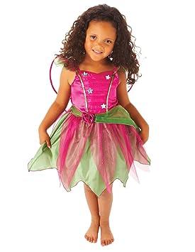 Christys - Disfraz de hada con alas para niña (4-6 años)
