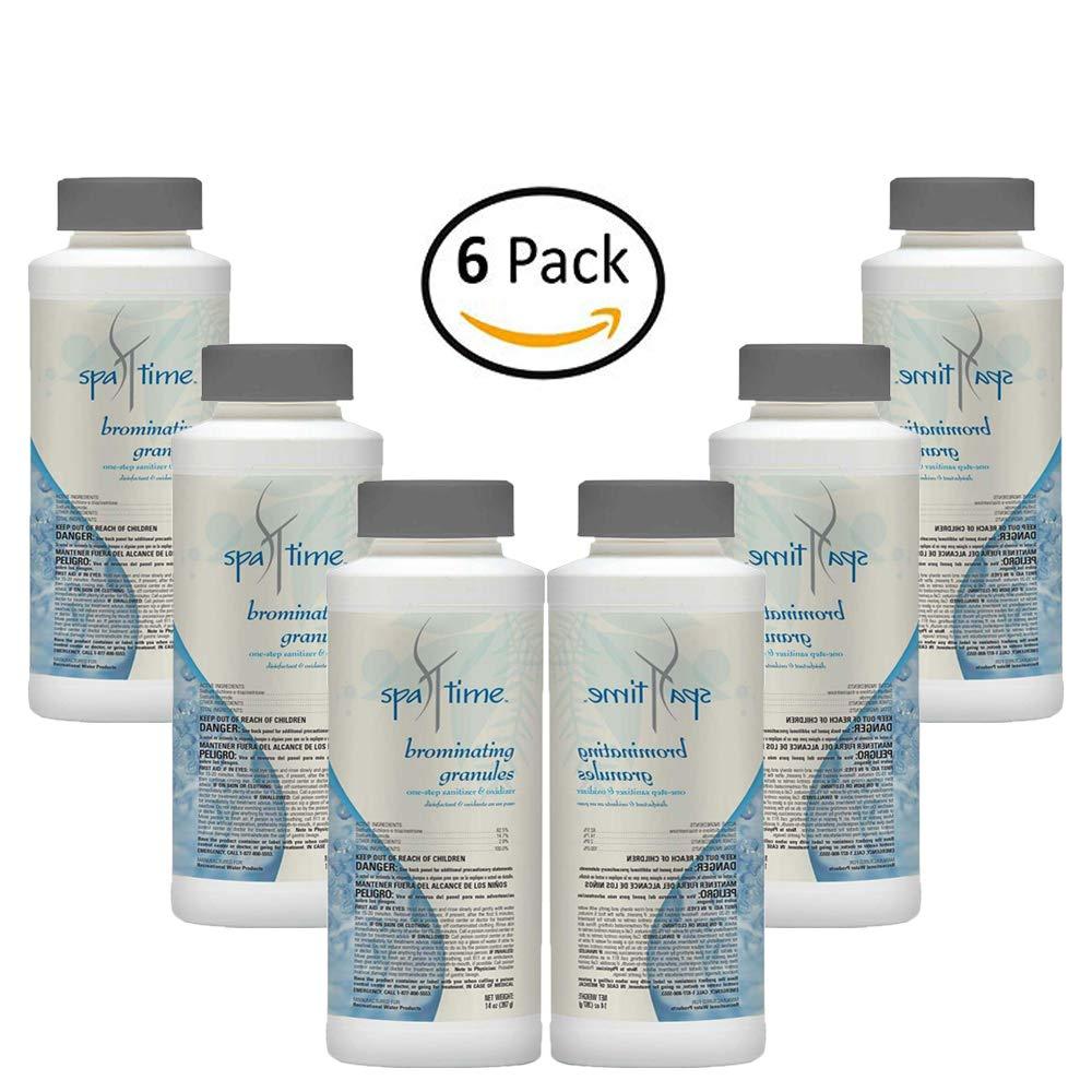 Aqua Chem Pack of 6 14 oz. Spa Brominating Granules Sanitizes and Creates an Odor Free Water Spa Hot Tub by Aqua Chem