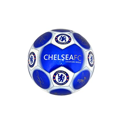 Balón de fútbol del Chelsea FC firmado, tamaño 1: Amazon.es ...