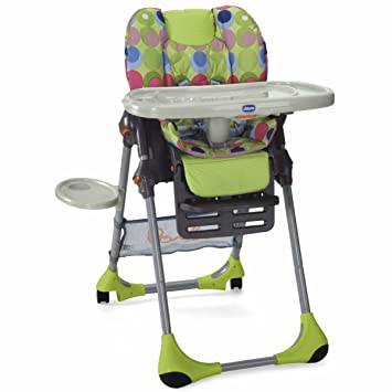 Chicco Polly Highchair   Seventy/Multicoloured