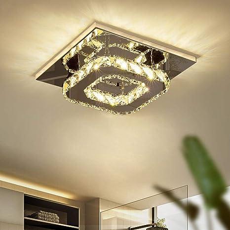 12W LED Moderno Lámpara de techo Sala Luz de techo Lujo ...