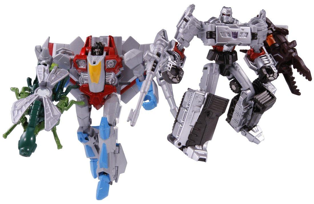 Transformer TF Generations TG-28 Megatron and Starscream (japan import)