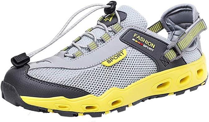 Zapatos De Agua Hombre Secado Rápido Zapatillas Trekking Malla Ligera Transpirable Al Aire Libre Fitness: Amazon.es: Zapatos y complementos