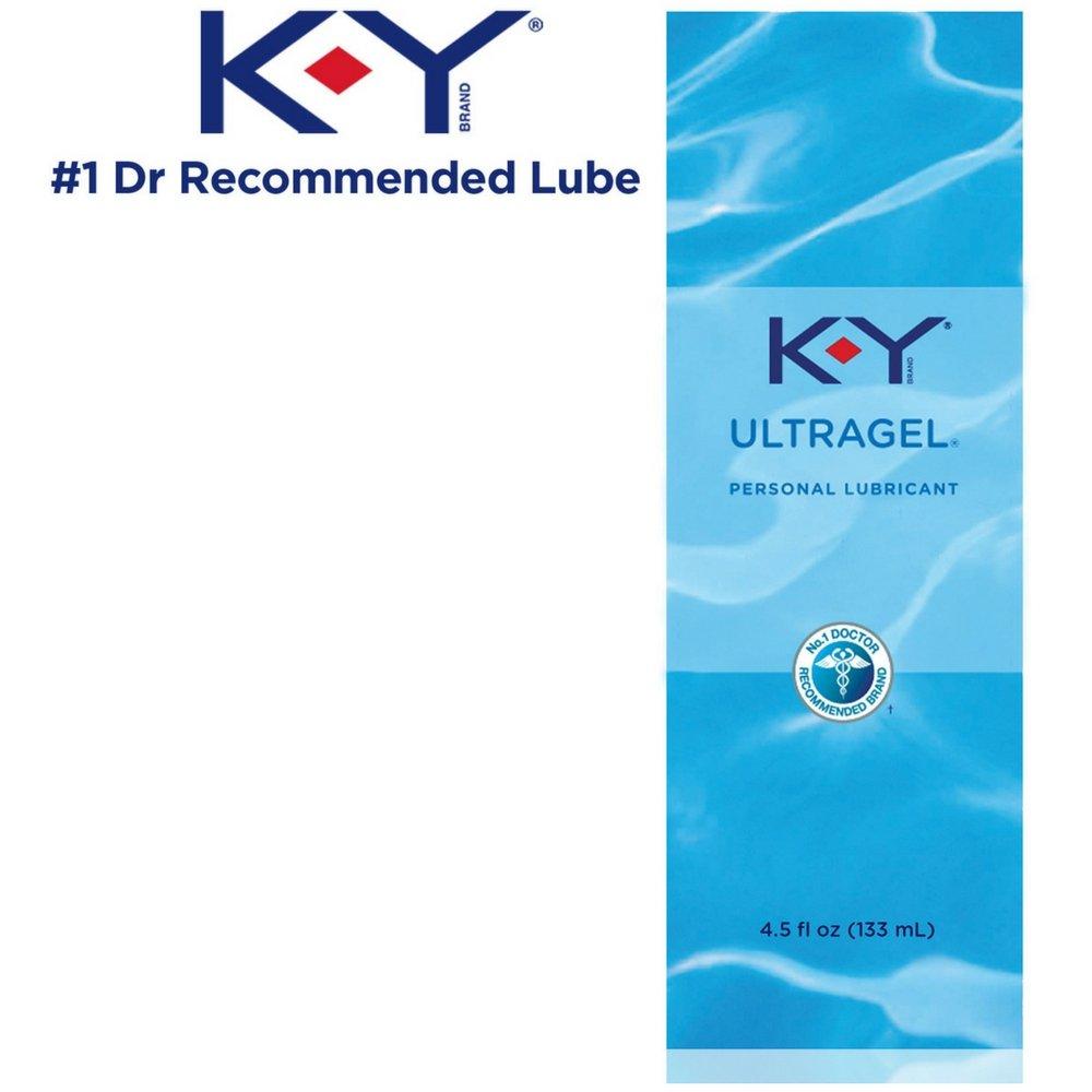 K-Y UltraGel Personal Lubricant, 4.5 oz. (Pack of 2)