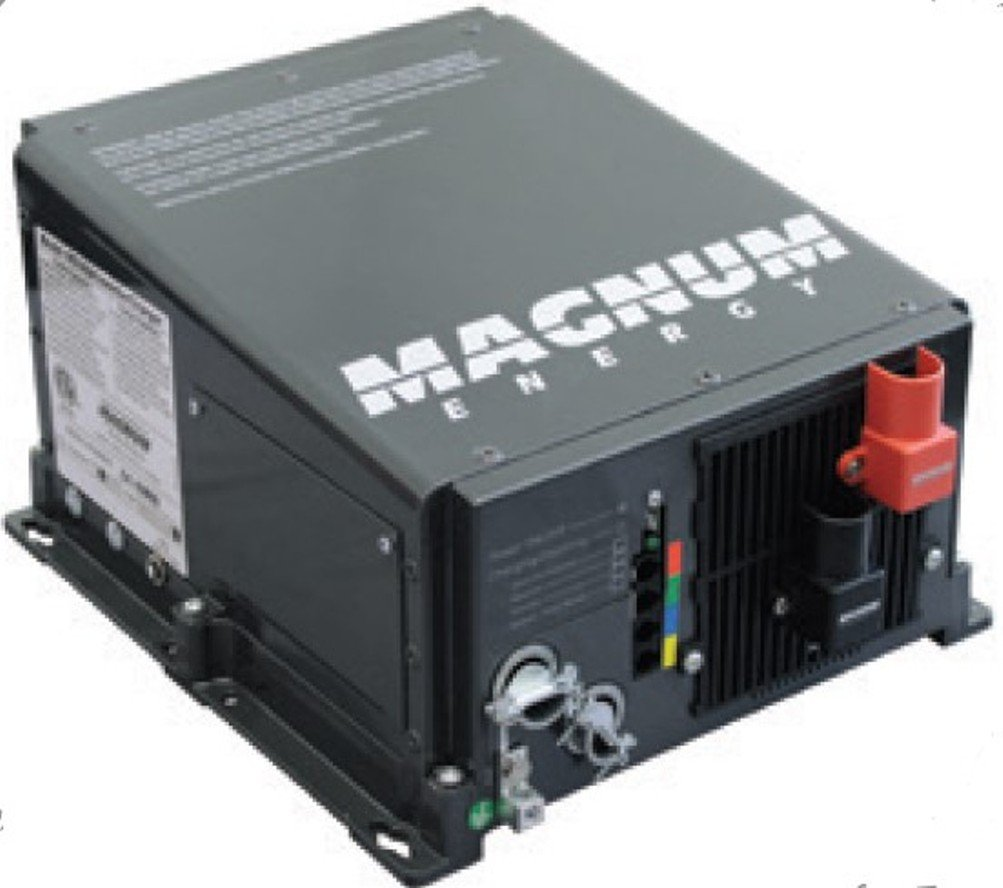 Magnum Energy RD2824 RD-Series 2800W 24VDC Modified Sine Inverter 80 Amp PFC Charger, Easy-to-install, Multiple ports, Versatile mounting, Convenient switches, Expanded transfer relay