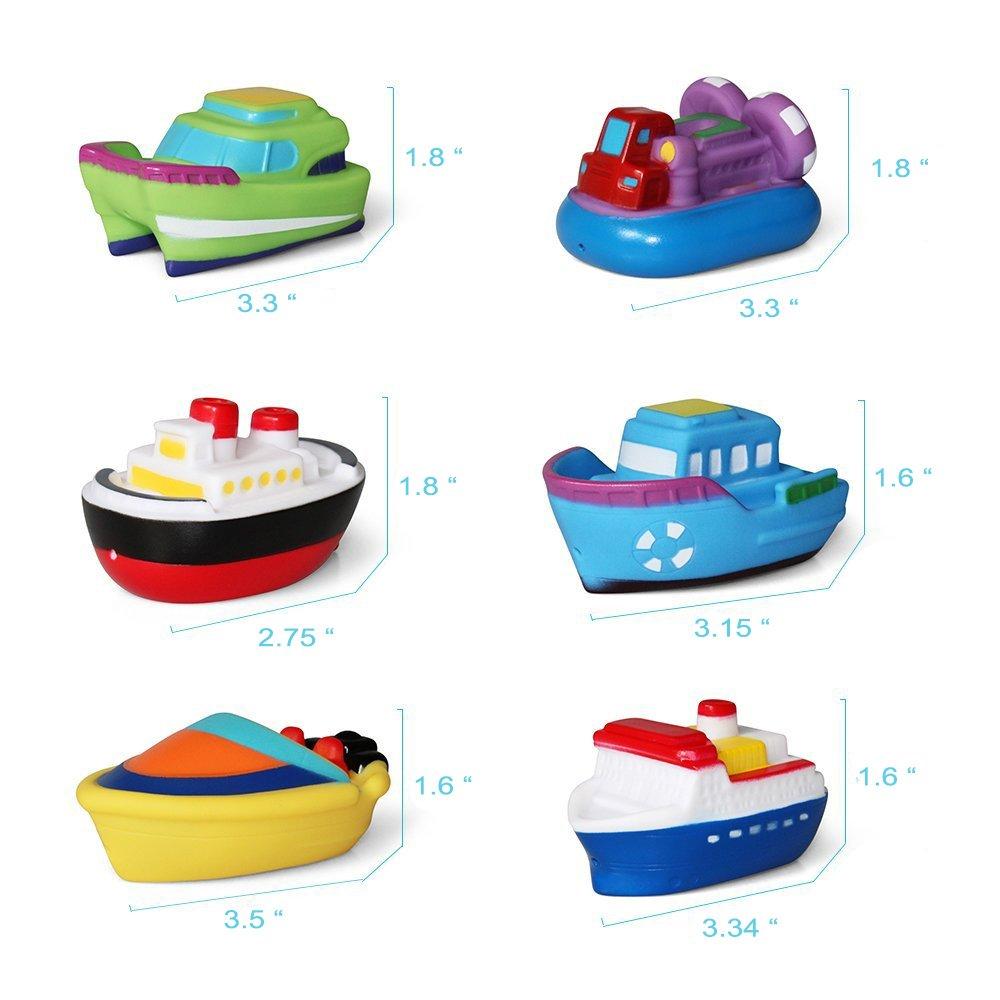 Amazon.com: Liberty Imports Water Bath Squirties | Fun Floating ...