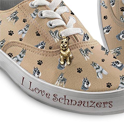 Kies De Sneakers Van Je Honden Voor Dames: Speelse Pups Van De Bradford Exchange Schnauzer