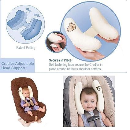 Head Support Car Seats,Car Seat Neck Relief, Kids Pram Stroller Safety S N2W2 1X