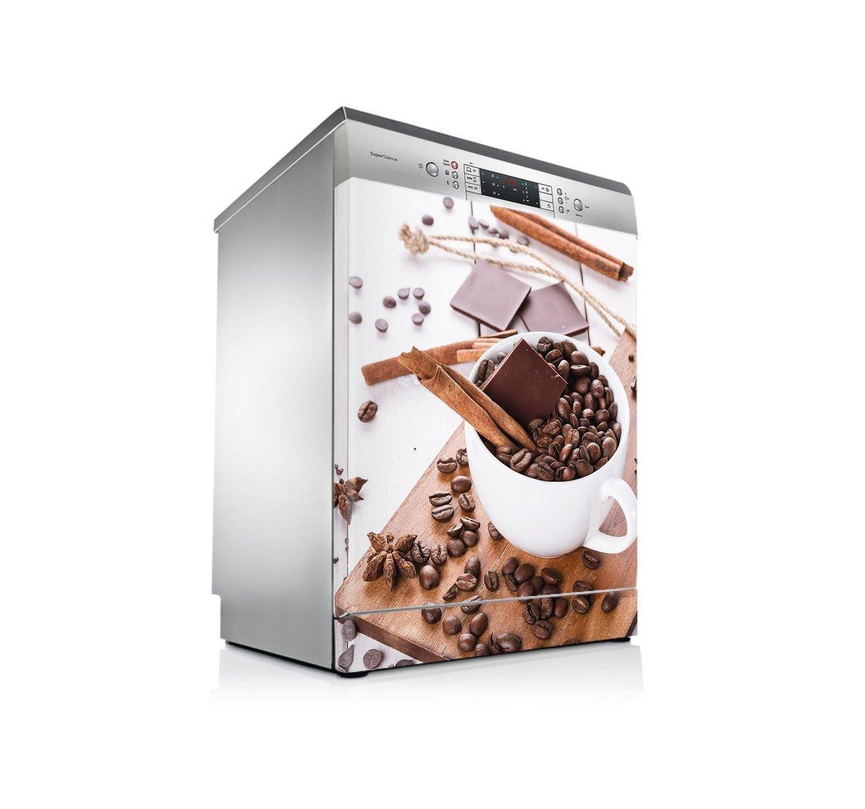 setecientosgramos Vinilo Lavavajillas | Stickers Dishwasher | Pegatina Lavavajillas | Coffee&Choco