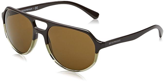 Emporio Armani 0EA4111 Gafas de sol, Green, 57 para Hombre ...