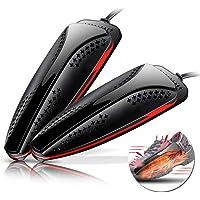 Chauffe Chaussure Sèche, Foot Warmer Shoes Heater Electric Portable Rétractable for Gants Chaussettes Éliminer Les Bactéries