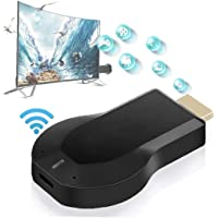 Wireless Screen Device WiFi HDMI Receiver Screen Mirroring Adapter Voor Android/iPhone/iPad/Windows/Miracast/Mac OS Om…