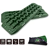 STEGODON New Recovery Traction Tracks with Bag(Set of 2), Recovery Traction Mats Sand Snow Mud Track Off Road Tire…