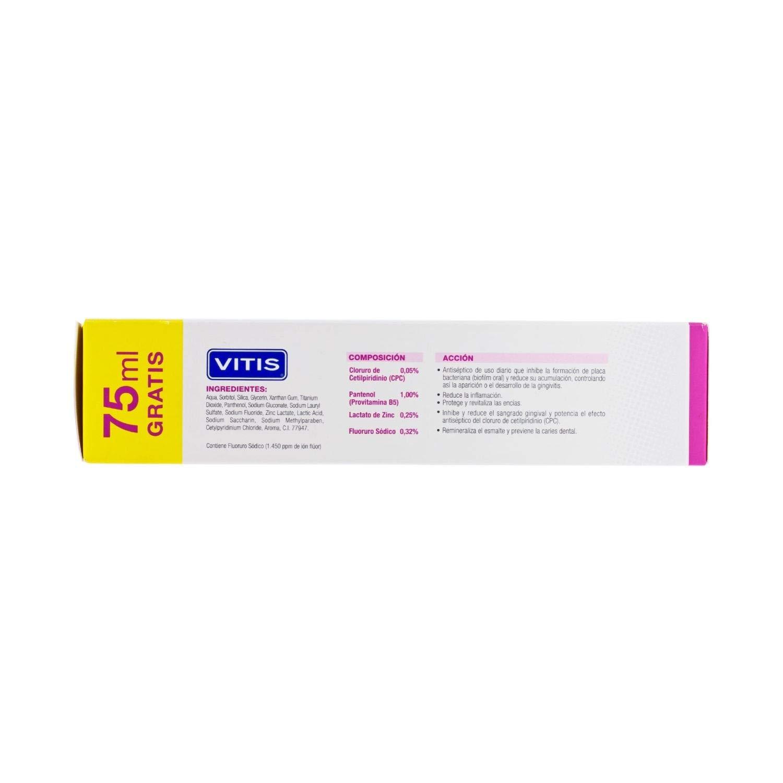 Amazon.com: Paquete de 2 pasta de dientes Vitis (2 unidades ...