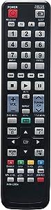 AH59-02353A Replace Remote Control Compatible with Samsung Home Theater System HT-D450 HT-D450ZK HT-D453H HT-D453HXY HT-D455 HT-D455EN HT-D455XU HT-D455XY HT-D550 HT-D550ZA HT-D550ZC HT-D550W HT-D550