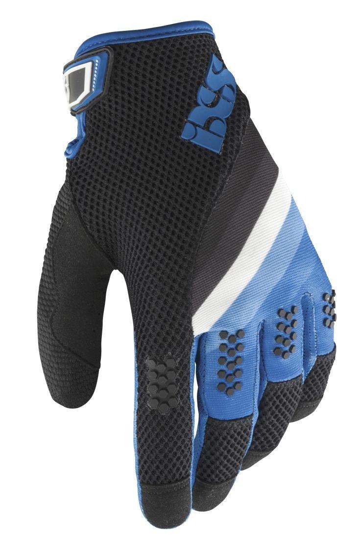 IXS Downhill-Handschuhe DH.X5.1 Schwarz Fluor Blau