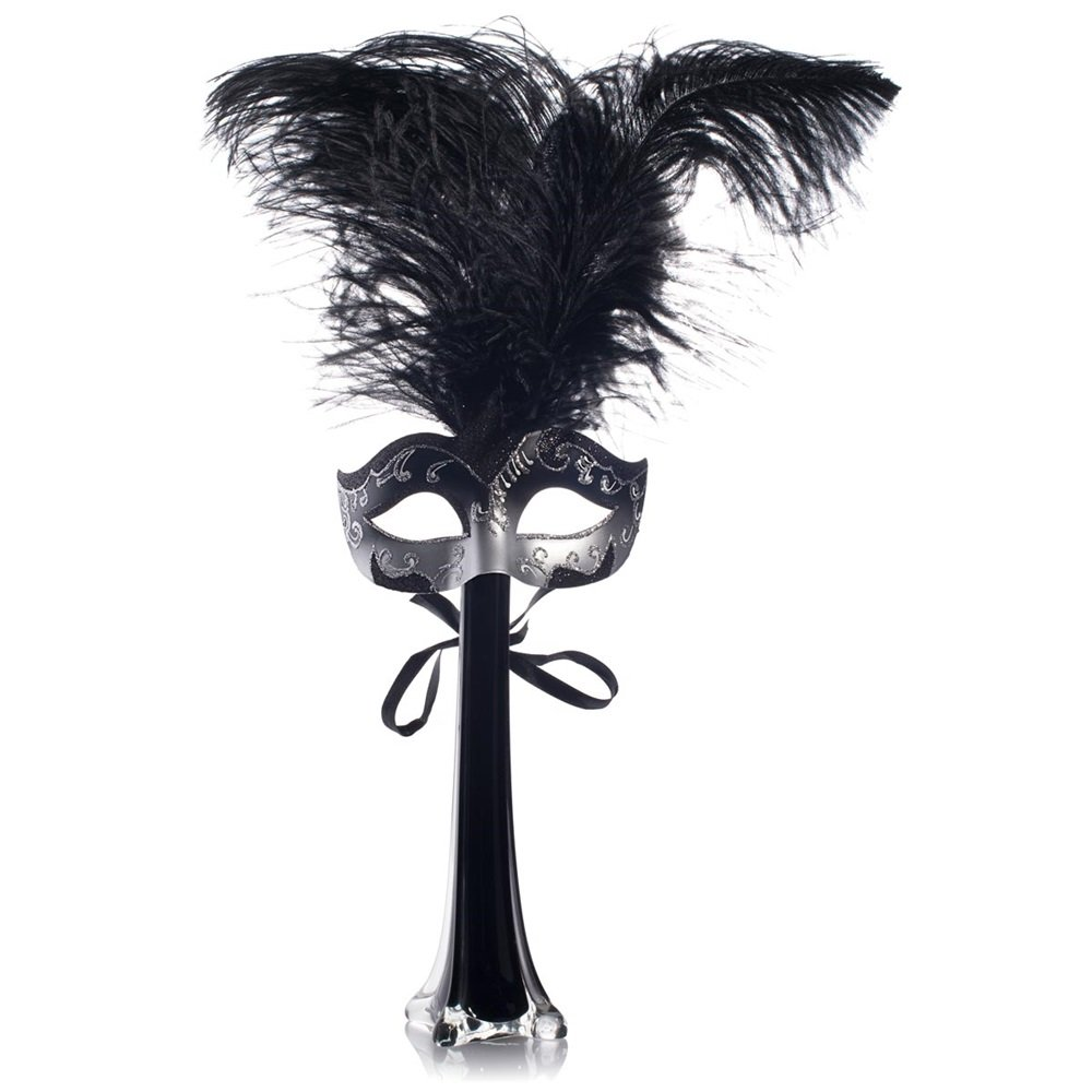 Amazon Com Tcdesignerproducts Black Masquerade Party Centerpiece