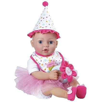 Amazon Adora Birthday Baby Gift Set 16 Inch Doll Soft