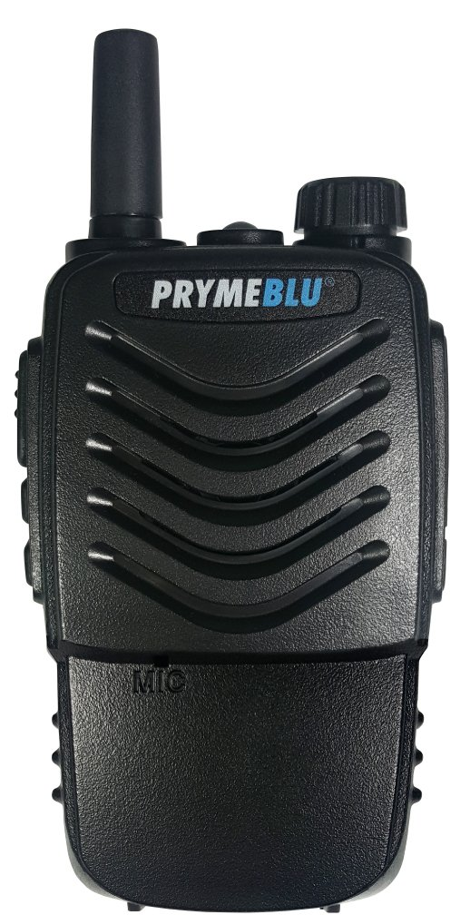 PRYMEBLU BTH-400-ZU Push-to-Talk PTT Handset for Android and iOS (for WAVE and Zello), Black by PRYMEBLU (Image #1)