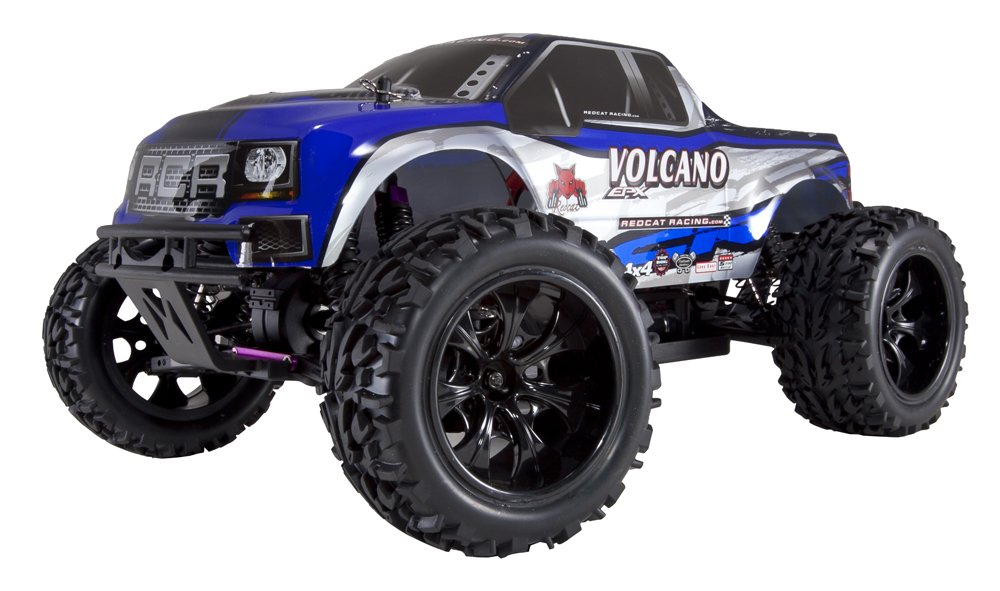 Redcat Racing Volcano EPX Electric Truck, Blue/Silver, 1/10 Scale