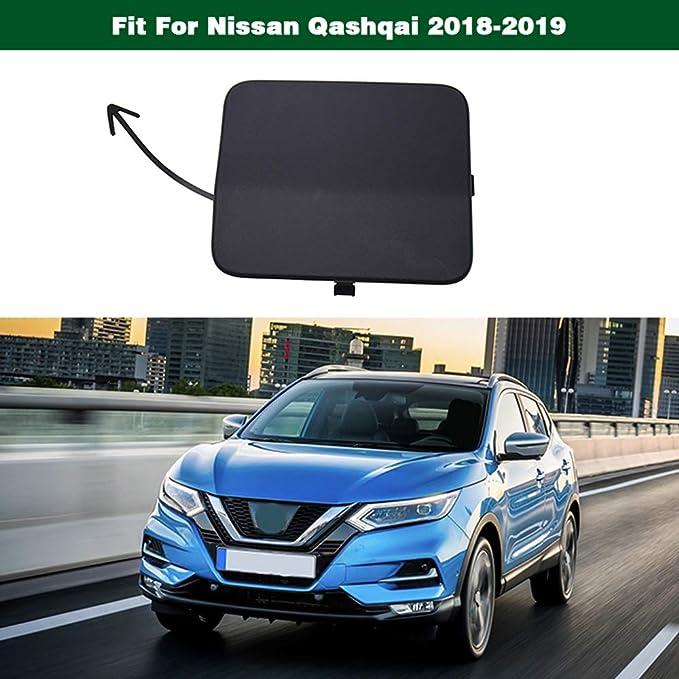 NB YULUBAIHUO Rear Bumper Tow Hook Eye Cover Cap Fit For NISSAN Qashqai 2014 2015 2016
