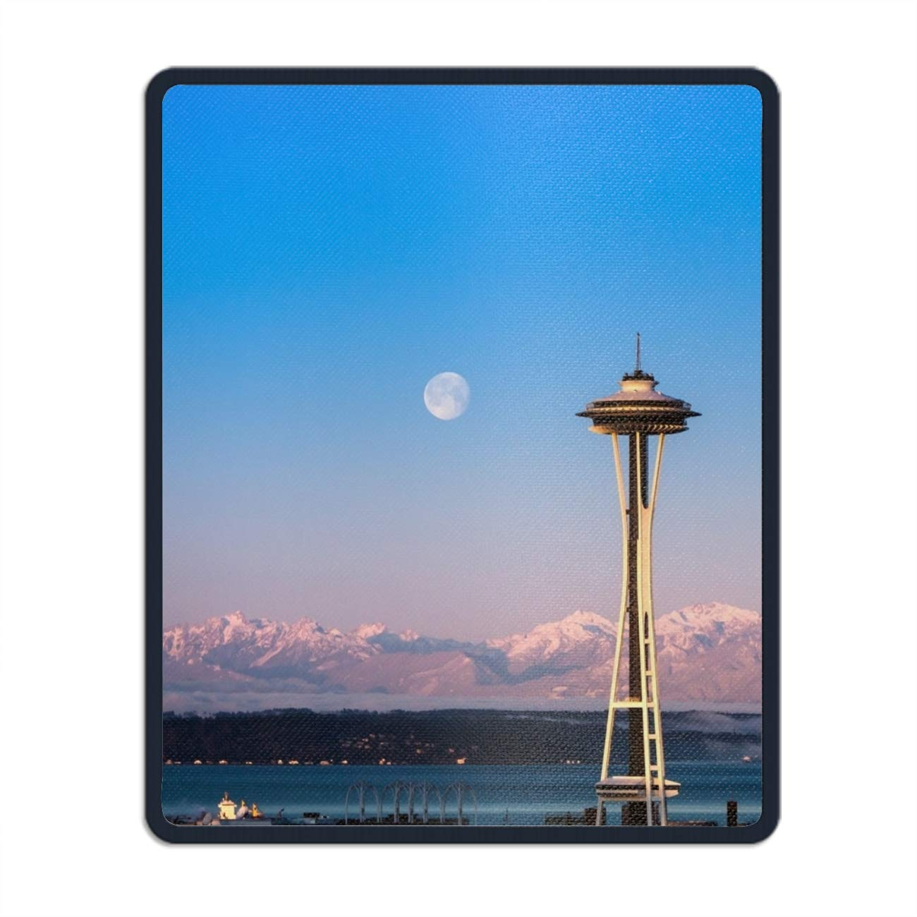 Home, Furniture & DIY Full Moon Over Mountains From The Sea Mouse Mat Bar Coasters Pad & Coaster