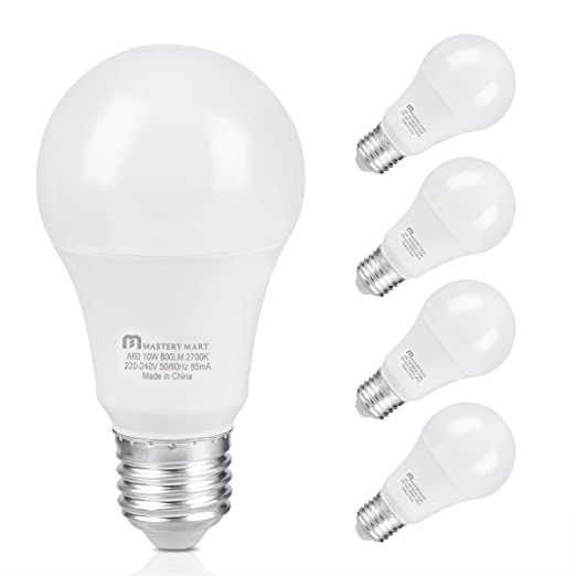 Philips LED Warm Glow E27 Edison Screw Dimmable Light Bulb 8.5 W  60 W Warm