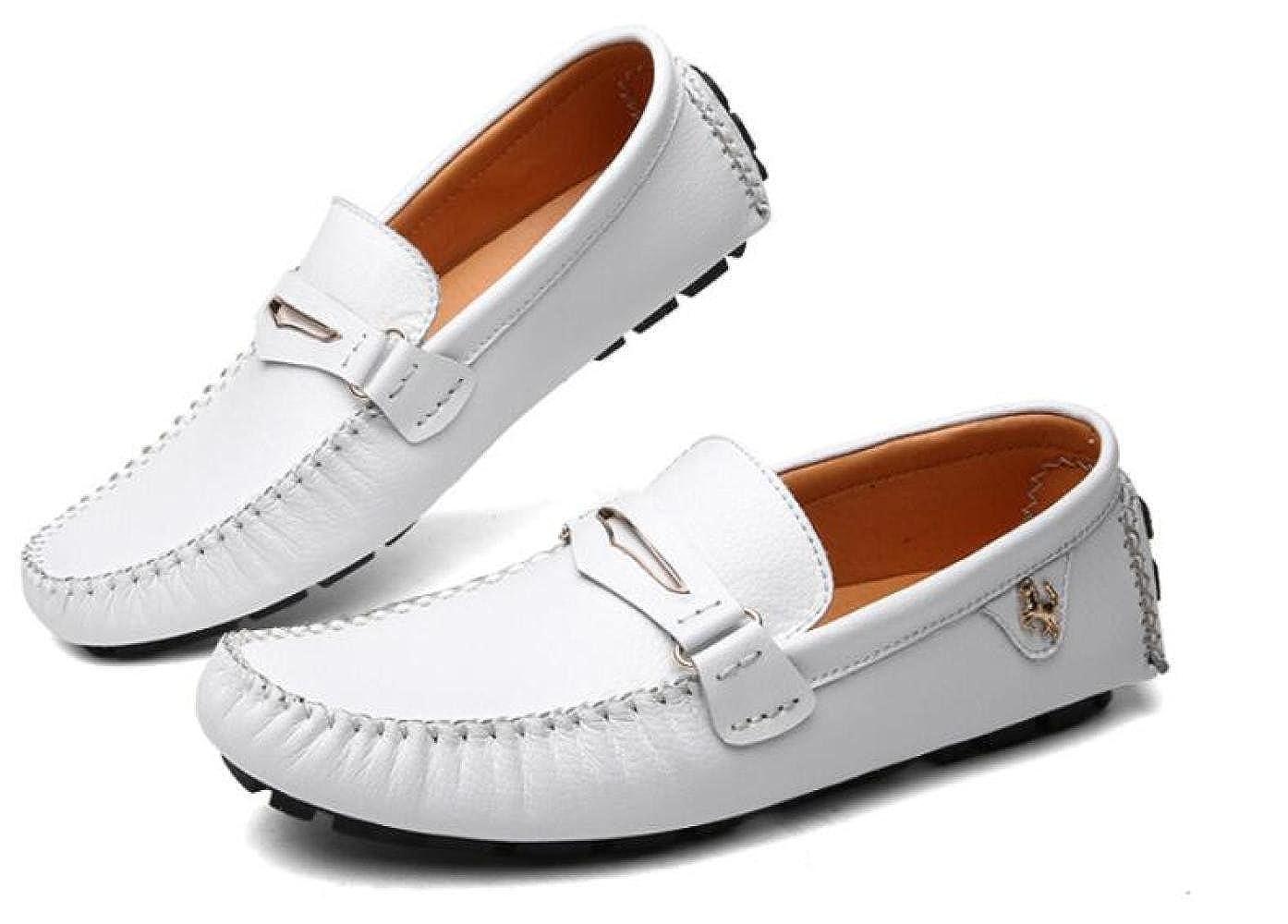 Männer Lässig Erbsenschuhe Faule Herrenschuhe Schuhe Fahrschuhe Herrenschuhe Faule Weiß 51a0f7
