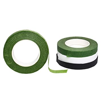 Amazon.de: Floral Draht Tape, Borte 4 Rollen Vorbau Flower Tape für ...
