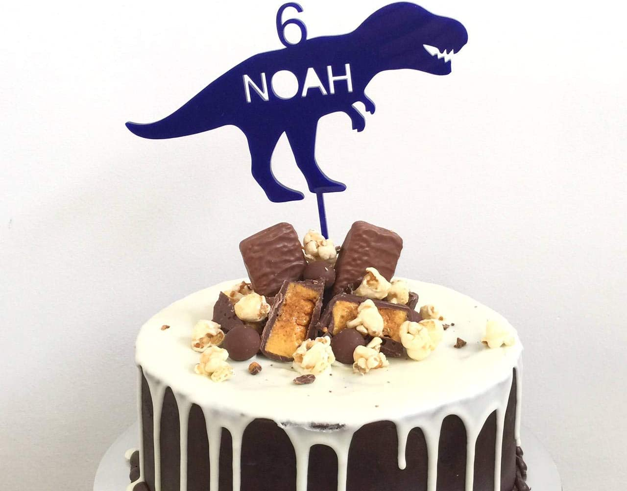Outstanding Cake Topper For Wedding Personalised Dinosaur T Rex Trex Birthday Personalised Birthday Cards Paralily Jamesorg