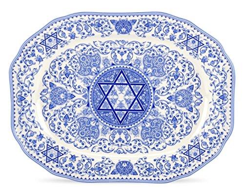 Spode Judaica Oval Platter - -